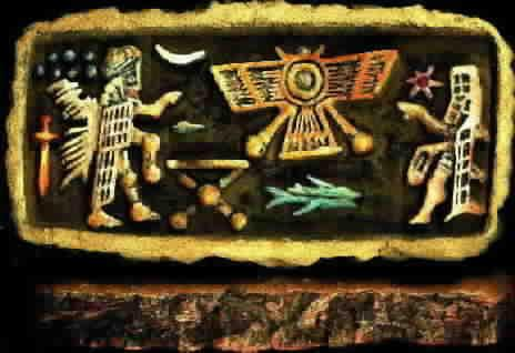 Dioses Anunnakis Anunnaki-sumerian-ufo-stone-jim-tierney